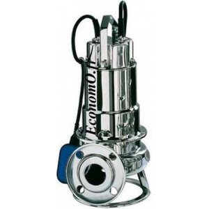 Pompe de Relevage Ebara DWF M 150 A de 6 à 42 m3/h entre 13,1 et 2,4 m HMT Mono 230 V 1,1 kW avec Flotteur - EconomO.fr
