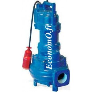 Pompe de Relevage Ebara 40DSF51.9M2AG de 5 à 28 m3/h entre 23 et 4 m HMT Mono 230 V 1,9 kW  - EconomO.fr