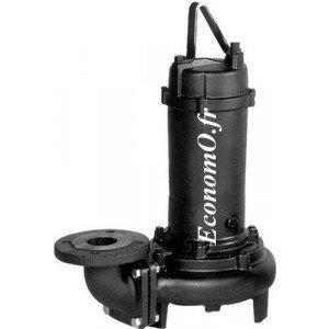 Pompe de Relevage Ebara Eau Usée 150DL55,5 de 60 à 192 m3/h entre 12,5 et 5,1 m HMT Tri 380/400/415 V 5,5 kW - EconomO.fr