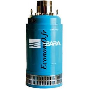 Pompe de Relevage Ebara DUMPER 10 51-ST de 3 à 24 m3/h entre 15 et 4,4 m HMT Tri 400 V 1,3 kW  - EconomO.fr