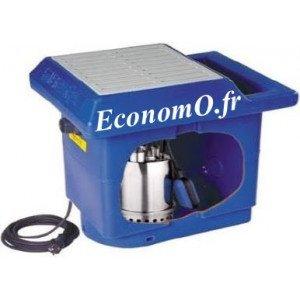 Station de Relevage Ebara BEST BOX G 30 litres avec Pompe Best One Vox de 1,2 à 10,2 m3/h entre 8,3 et 1,8 m HMT Mono 230 V 0,25