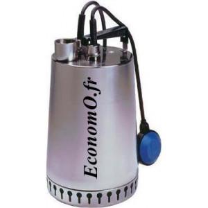 Pompe de Drainage Grundfos UNILIFT AP12.40.11.A1 de 2 à 6 m3/h entre 13,9 et 2 m HMT Mono 230 V 1,1 kW - EconomO.fr