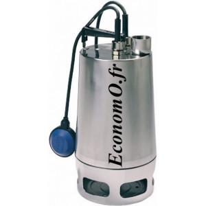 Pompe de Drainage Vortex Grundfos UNILIFT AP50-50-08-A1 de 8 à 20 m3/h entre 7,4 et 3,3 m HMT Mono 230 V 0,8 kW - EconomO.fr