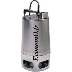 Pompe de Drainage Vortex Grundfos UNILIFT AP50-50-08-3 de 8 à 20 m3/h entre 7,4 et 3,3 m HMT Tri 400 V 0,8 kW - EconomO.fr