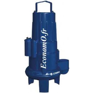 Pompe de Relevage Lowara Vortex 1310L-65-80X.451.V82.230/10 de 6 à 42 m3/h entre 6,5 et 2,8 m HMT Mono 230 V 1,2 kW - EconomO.fr