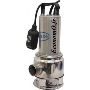 Pompe de Relevage Renson Vortex M110VAN de 3 à 27 m3/h entre 11,3 et 2 m HMT Mono 230 V 1,6 kW - EconomO.fr
