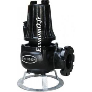 Pompe de Relevage Industrielle Renson JST40S de 7,2 à 68,4 m3/h entre 20 et 2 m HMT Tri 380 V 4 kW - EconomO.fr