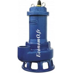 Pompe de Relevage Industrielle Renson Vortex JST22 R-SV de 6 à 54 m3/h entre 14 et 3 m HMT Tri 380 V 2,2 kW - EconomO.fr