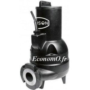 Pompe de Relevage Industrielle Renson Vortex de 3,8 à 40,6 m3/h entre 14,2 et 2,2 m HMT Tri 380 V 1,8 kW - EconomO.fr