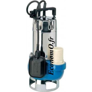 Pompe de Drainage Speroni SXG 1000 de 1,8 à 18 m3/h entre 7,8 et 1 m HMT Mono 230 V 1,1 kW - EconomO.fr
