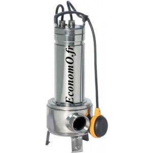 Pompe de Relevage Vortex Speroni SXS 750 VA de 3,6 à 15 m3/h entre 8 et 3 m HMT Mono 230 V 0,55 kW - EconomO.fr