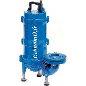 Pompe de Relevage Dilacératrice Speroni TRITURA 150 M de 1,5 à 9 m3/h entre 20 et 2 m HMT Mono 230 V 1,1 kW - EconomO.fr