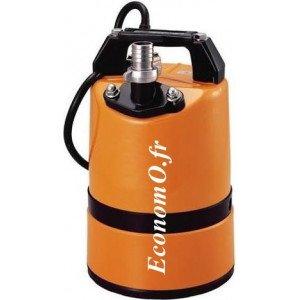 Pompe Serpillière Tsurumi LSC1.4S de 1 à 10 m3/h entre 10,5 et 1,3 m HMT Mono 230 V 0,48 kW - EconomO.fr