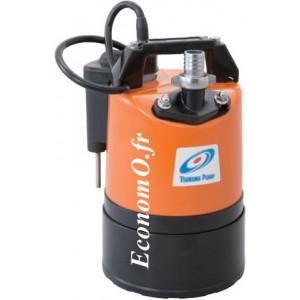 Pompe Serpillière Automatique Tsurumi LSCE1.4S de 1 à 10 m3/h entre 10,5 et 1,3 m HMT Mono 230 V 0,48 kW - EconomO.fr