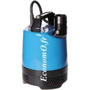 Pompe de Chantier Tsurumi LB-480 de 1 à 13,5 m3/h entre 10,5 et 2 m HMT Mono 230 V 0,48 kW - EconomO.fr