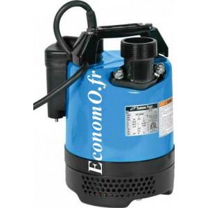 Pompe de Chantier Automatisée Tsurumi LB-800A de 1 à 18 m3/h entre 14,5 et 2 m HMT Mono 230 V 0,75 kW - EconomO.fr