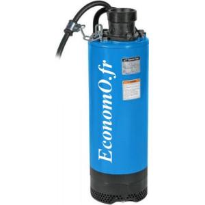 Pompe de Chantier Tsurumi LB-1500 de 1 à 26,5 m3/h entre 17,3 et 2 m HMT Mono 230 V 1,55 kW - EconomO.fr
