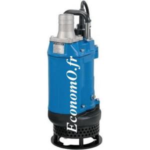 Pompe de Relevage avec Agitateur Tsurumi KTD22.0 de 5 à 30 m3/h entre 18 et 2 m HMT Tri 400 V 2 kW - EconomO.fr