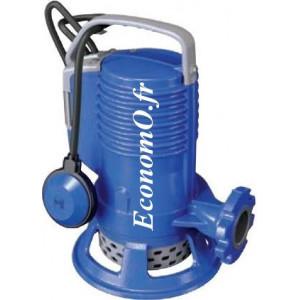 Pompe de Relevage Zenit AP BLUE PRO 200 AUT de 3,6 à 25,2 m3/h entre 25,4 et 6,6 m HMT Mono 230 V 1,5 kW - EconomO.fr