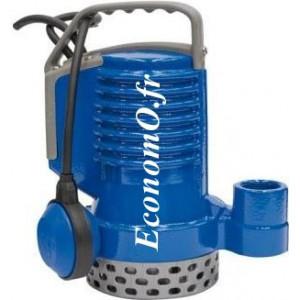 Pompe de Relevage Zenit DR BLUE 40 AUT de 3,6 à 10,8 m3/h entre 6,3 et 3,6 m HMT Mono 230 V 0,3 kW - EconomO.fr