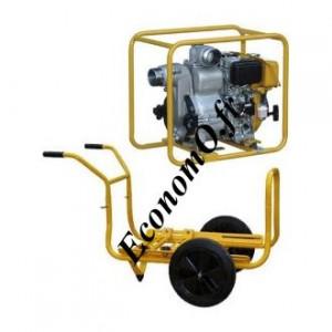 Motopompe Robin Subaru SWT 75 D Diesel de 6 à 72 m3/h entre 22,5 et 3 m HMT avec Brouette - EconomO.fr