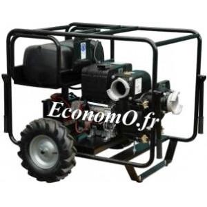 Motopompe Diesel Hatz SWT 150 HZ DXL45 Brouette DE 150 m3/h max 32 m HMT max - EconomO.fr