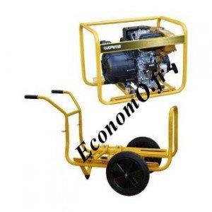 Motopompe Robin Subaru P 52 D Thermoplastique Diesel de 6 à 42 m3/h entre 38 et 3 m HMT avec Brouette et DE - EconomO.fr
