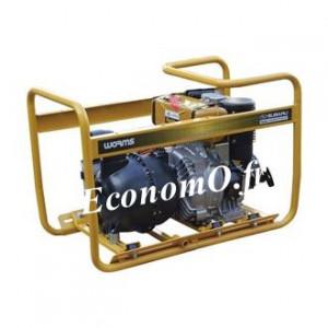 Motopompe Robin Subaru P 80 D Thermoplastique Diesel de 9 à 87 m3/h entre 22 et 6 m HMT avec DE - EconomO.fr