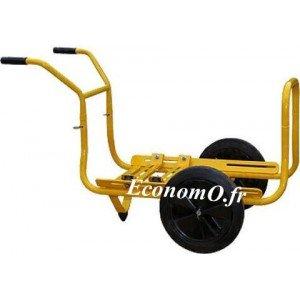 Brouette Chariot 4NC pour Motopompe Robin Subaru - EconomO.fr