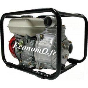 Motopompe Tsurumi Eaux Claires TET2 50 HA de 1 à 29 m3/h entre 31 et 2 m HMT Moteur Essence Honda - EconomO.fr