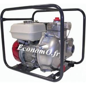 Motopompe Tsurumi Eaux Claires Haute Pression TEF3 50 H de 1 à 24,5 m3/h entre 74 et 1 m HMT Moteur Essence Honda - EconomO.fr