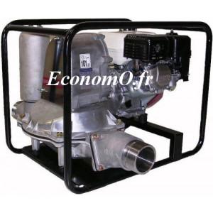 Motopompe Tsurumi à Membrane Eaux Très Chargées TD 200 HA de 1,5 à 7,5 m3/h entre 16,5 et 1 m HMT Moteur Essence Honda - EconomO