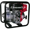 Motopompe Tsurumi Eaux Claires TE4 50 RD de 2 à 36 m3/h entre 31 et 3 m HMT Moteur Diesel Robin - EconomO.fr