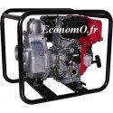 Motopompe Tsurumi Eaux Claires TE4 80 RD de 2 à 51 m3/h entre 28,5 et 3 m HMT Moteur Diesel Robin - EconomO.fr