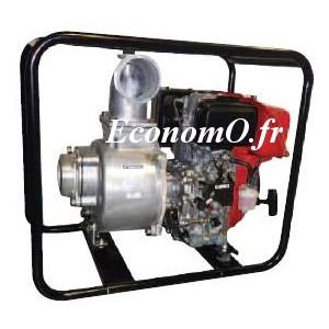 Motopompe Tsurumi Eaux Claires TE2 100 RD de 2 à 95 m3/h entre 28,5 et 3 m HMT Moteur Diesel Robin - EconomO.fr