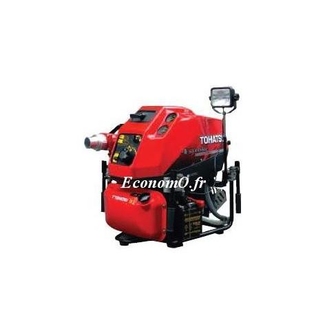 Motopompe Incendie Tsurumi VF53 AS de 42 à 72 m3/h entre 100 et 60 m HMT Tohatsu Essence - EconomO.fr
