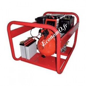 Motopompe Haute Pression Tsurumi DEF 5210 YECE de 1,2 à 31,8 m3/h entre 93 et 10 m HMT Davey Pumps Diesel  - EconomO.fr