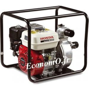 Motopompe Haute Pression Honda WH 20 XT EX Essence de 1,5 à 30 m3/h entre 50 et 1 m HMT - EconomO.fr