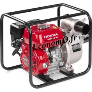 Motopompe Haut Débit Honda WB 30 XT 3 DRX Essence de 3 à 66 m3/h entre 23 et 1 m HMT - EconomO.fr