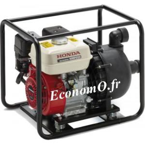 Motopompe Produit Chimique Honda WMP 20 X1 E1T Essence de 3 à 51 m3/h entre 32,5 et 1 m HMT - EconomO.fr