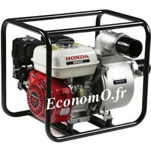 Motopompe Renson Essence Moteur Honda WB30 de 3 à 66 m3/h entre 27,5 et 1 m HMT - EconomO.fr