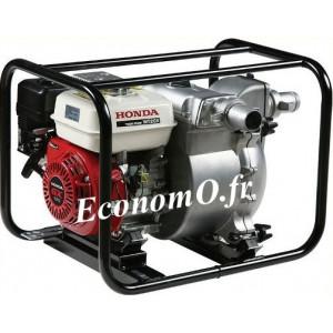 Motopompe Renson Essence Moteur Honda WT20 de 5 à 42 m3/h entre 29,5 et 1 m HMT - EconomO.fr
