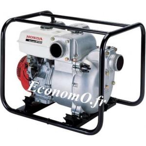 Motopompe Renson Essence Moteur Honda WT30 de 5 à 72 m3/h entre 26,5 et 1 m HMT - EconomO.fr