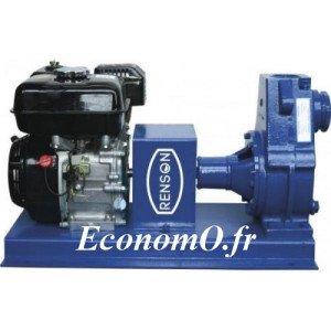 Motopompe Renson Essence à Engrais AA3BES de 7,2 à 31,8 m3/h entre 25 et 10 m HMT - EconomO.fr