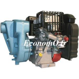 Motopompe Thermique Calpeda 01 1/2 RA-2T à Roue Ouverte Moteur 2 Temps Essence