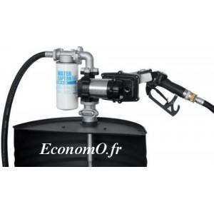 Groupe de Transvasement ATEX PIUSI DRUM EX50 12 V DC avec Pistolet Automatique - EconomO.fr