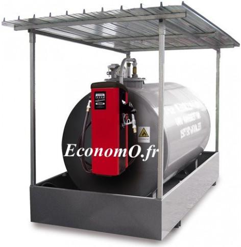 Distributeur de Gasoil Piusi Self Service 100 K44 Tank a Compteur Mecanique 90 l/mn 230 V 1,15 kW pour Reservoir - EconomO.fr