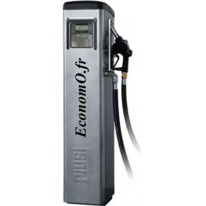 Distributeur de Gasoil Piusi Self Service 70 MC F Printer a Compteur Electronique 70 l/mn 230 V 0,9 kW sur Colonne