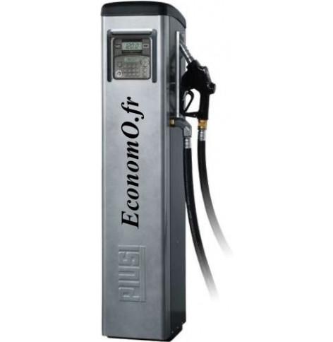 Distributeur de Gasoil Piusi Self Service 100 MC F a Compteur Electronique 90 l/mn 230 V 1,15 kW sur Colonne