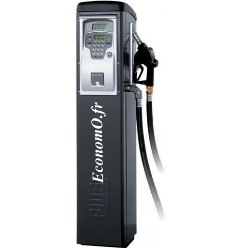 Distributeur de Gasoil Piusi Self Service 100 FM a Compteur Electronique 90 l/mn 230 V 1,15 kW sur Colonne